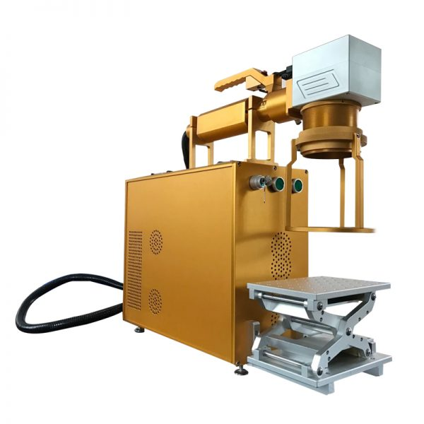 Ηandhald fiber marking machine
